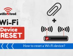 Reset a Wi-Fi device